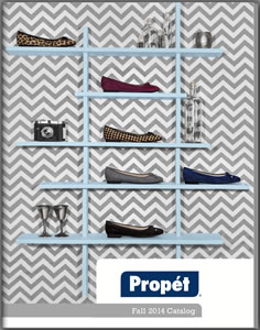 Propet Fall 14 Catalog Cover